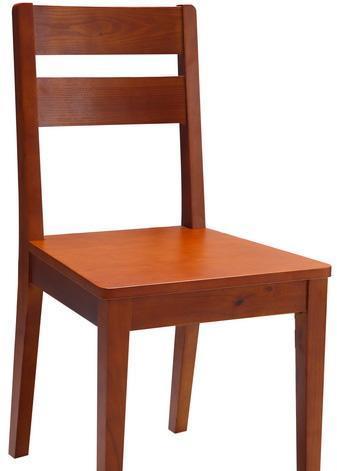 树之语加枫系列CT129餐椅(木板座)CT129