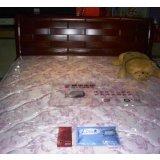 穗宝双人实木床床垫008