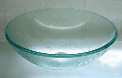 古亚单层玻璃盆D332