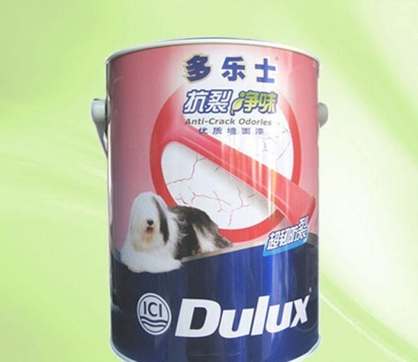 多乐士水性乳胶漆-抗裂净味A906(5L)A906