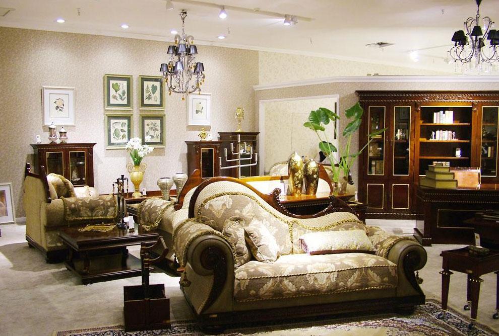 标致家具-凯欧丽斯系列-客厅家具组合