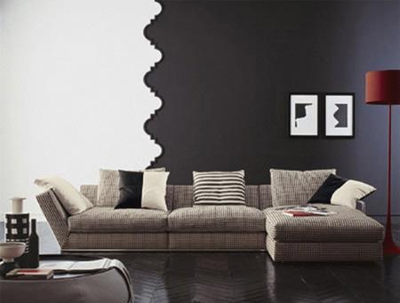 北山家居客厅家具转角沙发1SD602AD1SD602AD