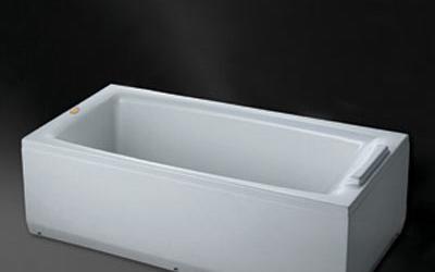 惠达HD1304双裙边浴缸(含下水)HD1304