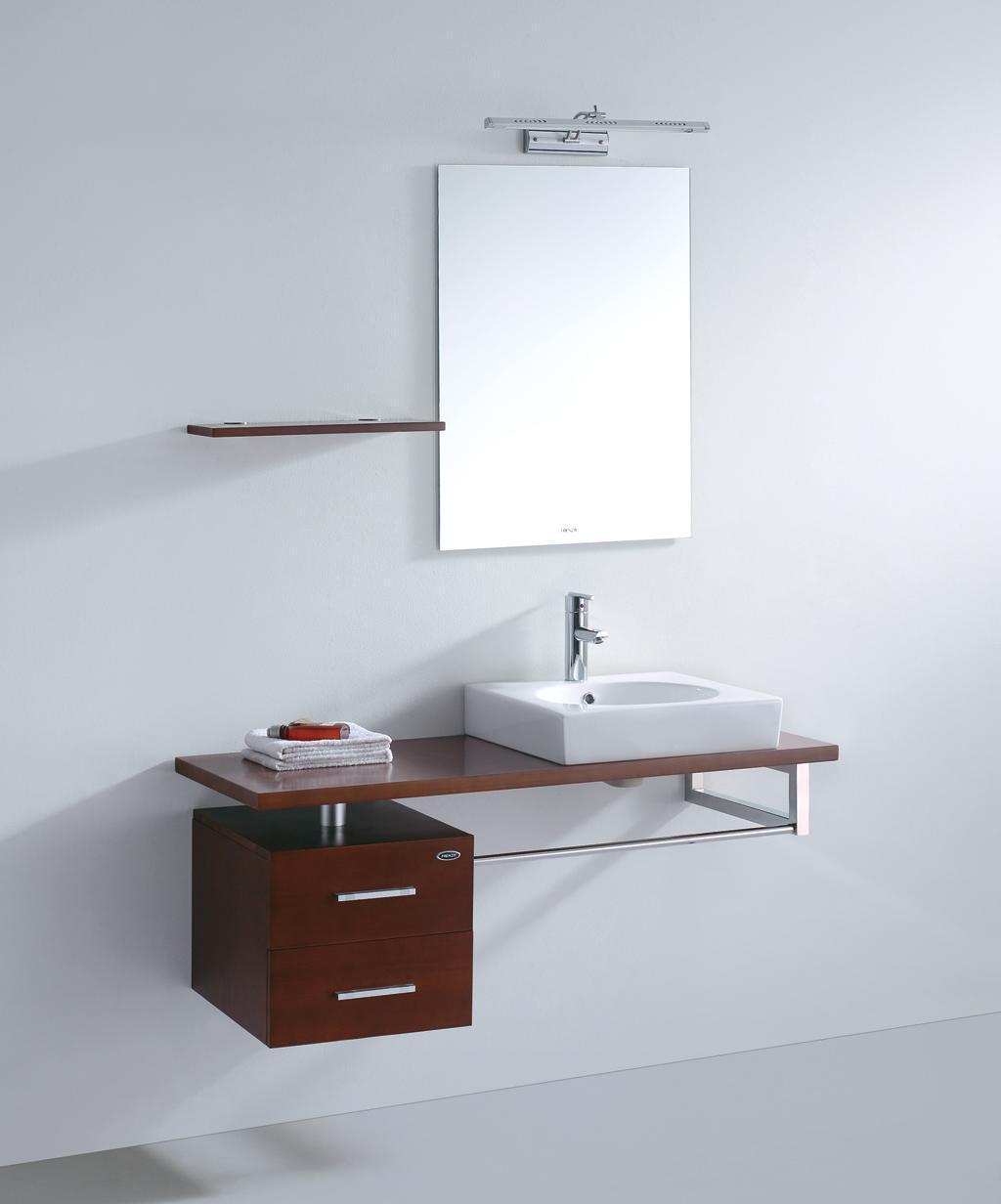 法恩莎实木浴室柜FPGM4615(主柜)FPGM4615