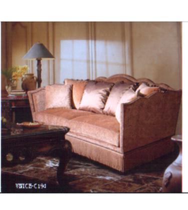 林木工坊家具曲线边框沙发