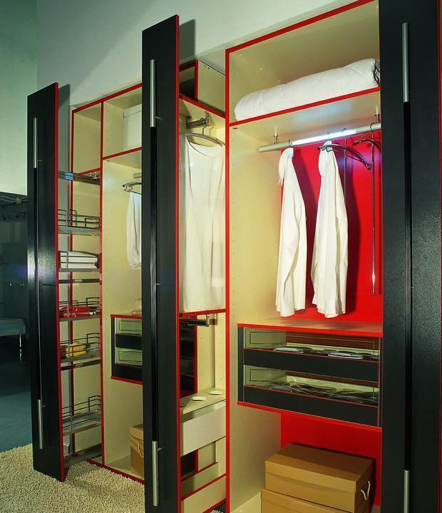 瑞时斯派克板式衣帽间-单色油漆斯派克-板式