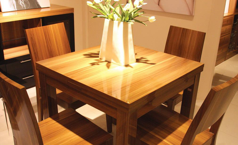 澳玛拉伸餐台KAT301+餐椅KAY201<br />