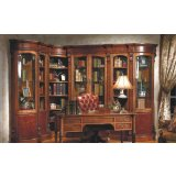大风范家具路易十六书房系列LV-550转角书柜