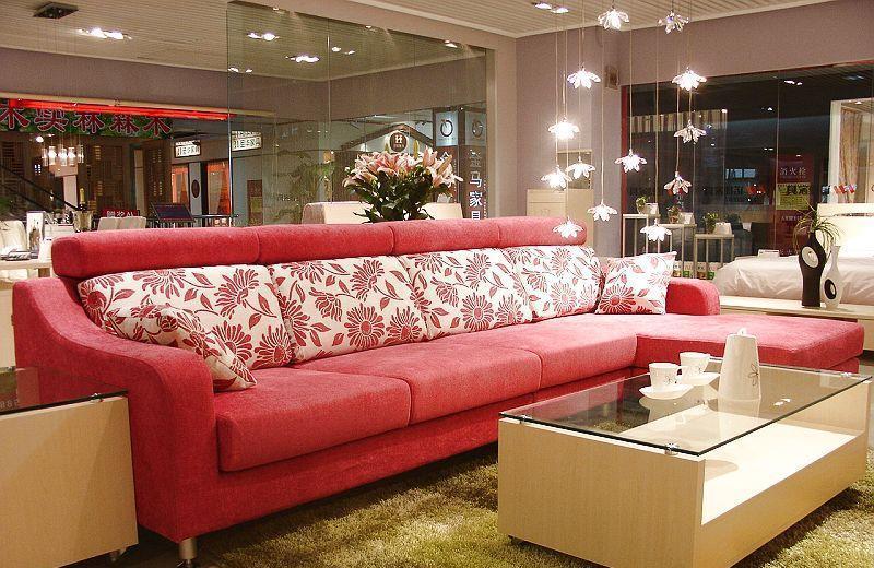 诺捷客厅家具沙发(3110*1750*800mm)