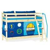 丹麦芙莱莎儿童家具双层床组合BALDER2(本木色