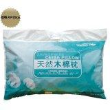 图美寝饰枕芯系列天然木棉枕(长)TI009(45X12