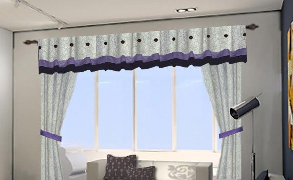 布易窗帘现代时尚系列蔷薇-淡彩之美蔷薇-淡彩之美