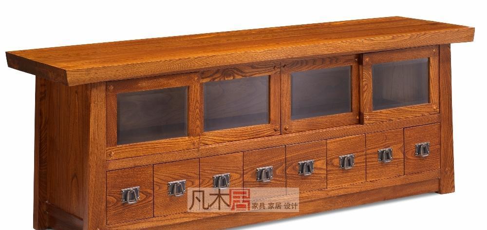 凡木居简约日式系列A3037移门电视柜A3037