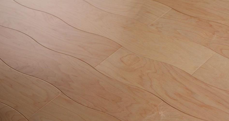 新绿洲曲线多层系列加枫实木地板