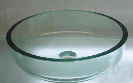 古亚单层玻璃盆D382