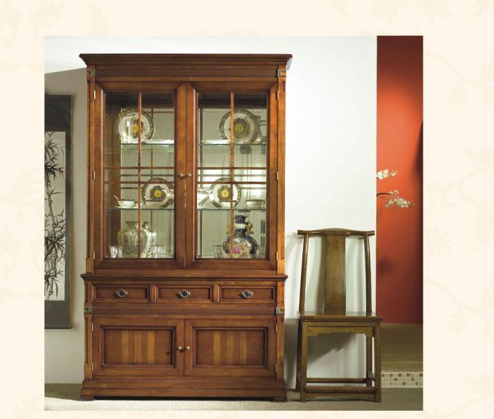 大风范家具积家传奇客厅系列JE-651-2双门饰品柜JE-651-2双门饰品柜