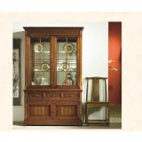 大风范家具积家传奇客厅系列JE-651-2双门饰品柜