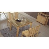 翡翠藤器餐台椅组合0056