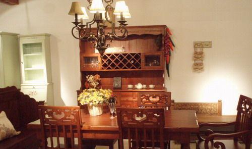 林木工坊专业定制家具餐桌MS1-1MS1-1