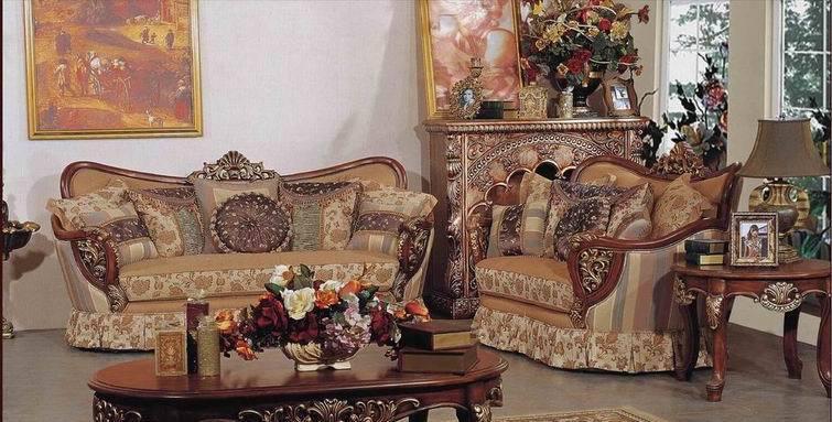 雅梦娜欧E296美式沙发<br />E296