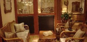 荷比先生伊丽莎白沙发+茶几+角几