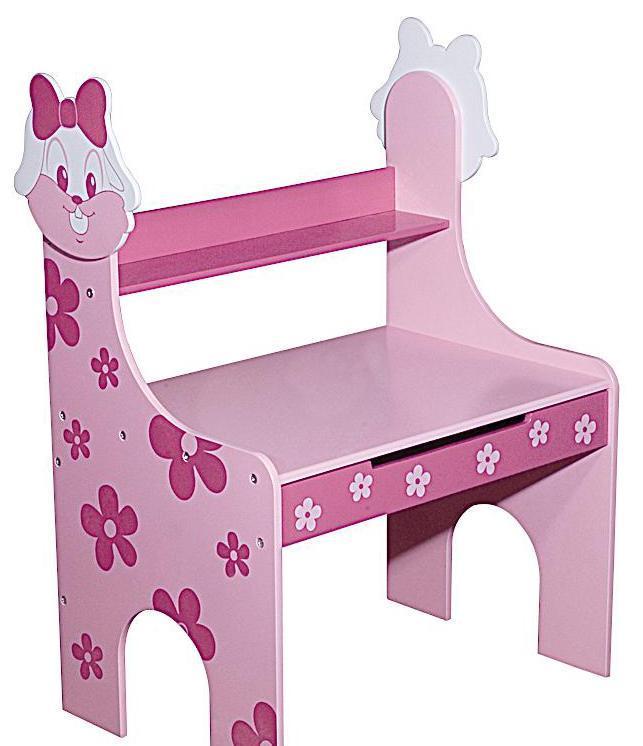 图图佳佳图图宝宝系列RJU00475小兔书桌(粉色)RJU00475