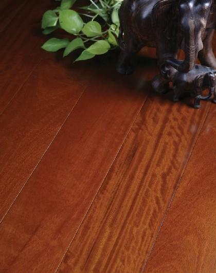 富林满江红系列STP1587实木地板-南美柚木
