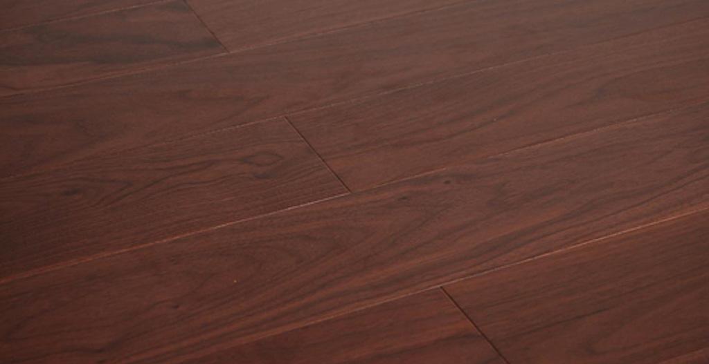 林牌实木复合地板黑胡桃