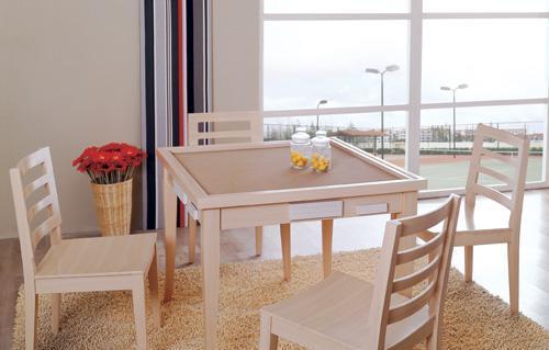 富之岛餐椅白榉系列12P11712P117