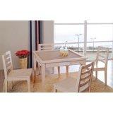 富之岛餐椅白榉系列12P117