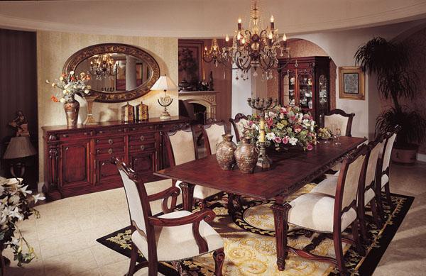 大风范餐桌椅齐彭代尔系列Q-81301Q-81301