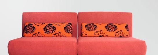 麦斯得尔维也纳系列露西s21沙发床(红)<br />s21