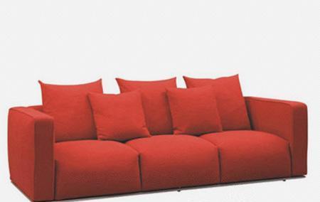 北山家居客厅家具多人沙发1SC450AD1SC450AD