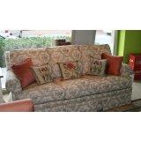 美克美家MK7504-1DP 4A222 925布艺三人沙发