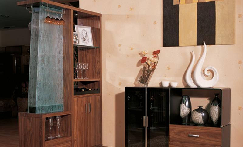 三叶餐柜+隔断国色天香系列CG0801CG0801