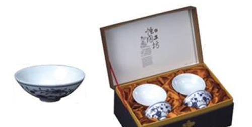 恒福茶具富贵普洱杯组4个杯