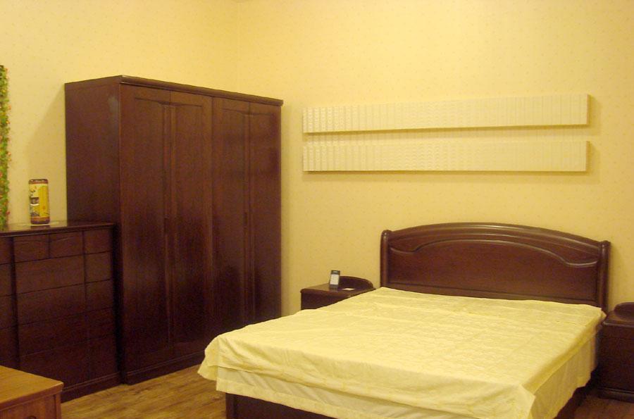 东升实木家具B1802高箱床B1802