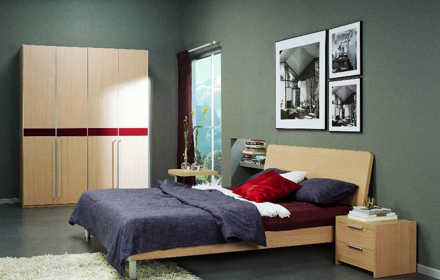 耐特利尔原橡木系列双人床-3-3