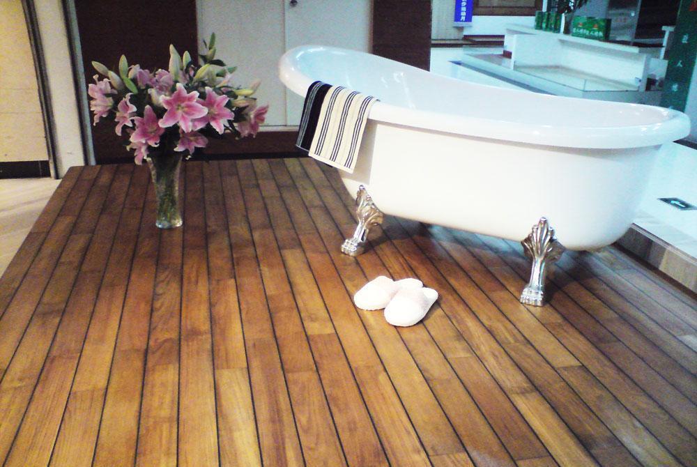 金鹰艾格三层实木地板卫生间地板卫生间地板