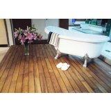 金鹰艾格三层实木地板卫生间地板