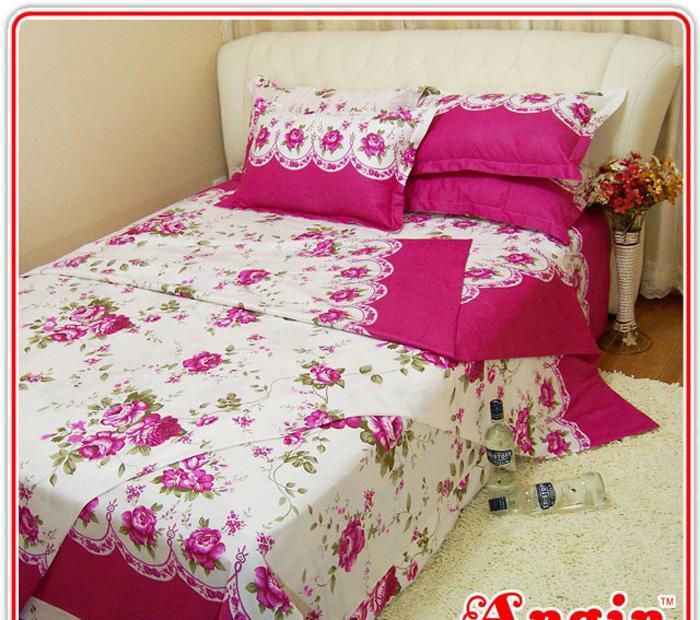 安寝家纺今世有约高级斜纹床上用品四件套