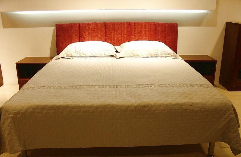 诺捷卧室家具床架8B004-B+8B101-B花梨木色8B004-B+8B101-B