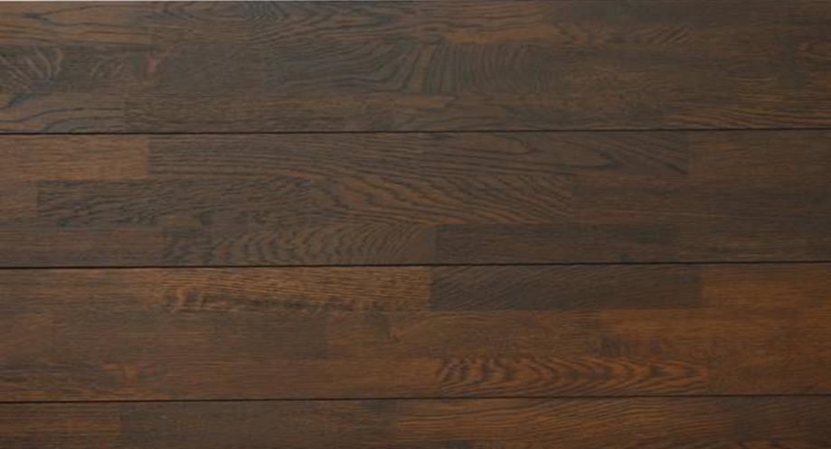 福斯实木指接地板浮雕面系列卡拉棕色<br />卡拉棕色