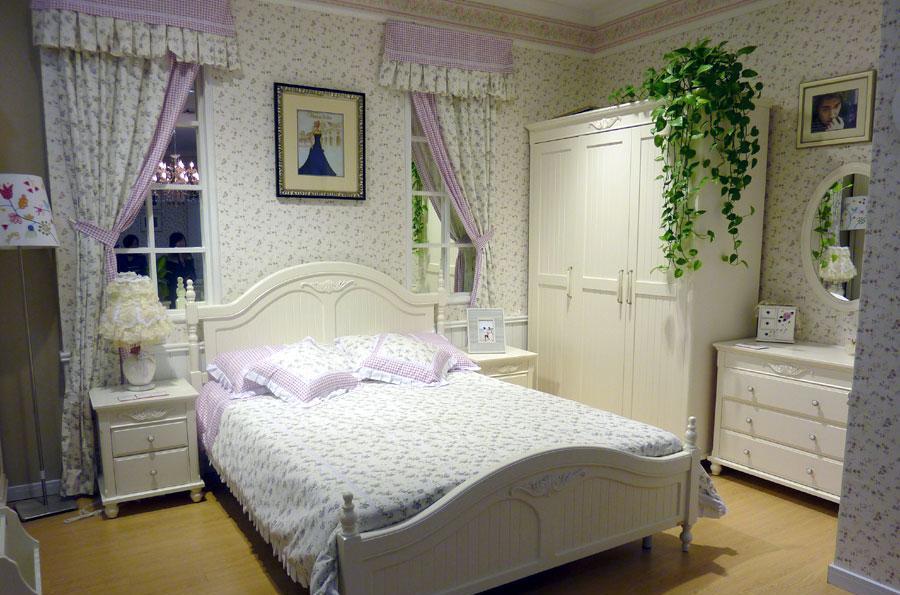 木槿之恋H825整体卧室H825