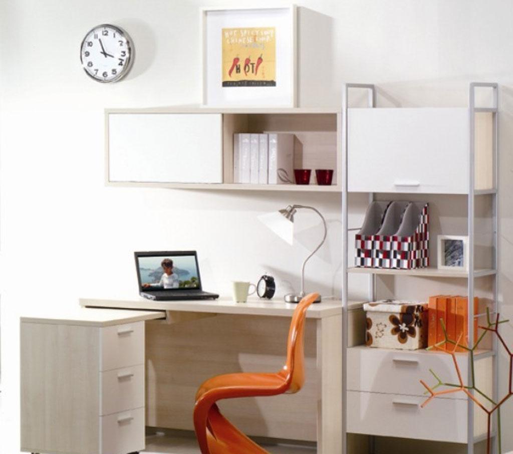 绿之岛白领生活系列BZ224书桌字台吊柜BZ224