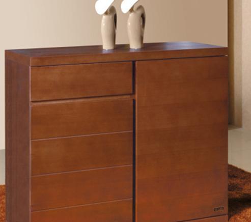 树之语客厅家具诗琴韵系列2B10-006鞋柜2B10-006鞋柜