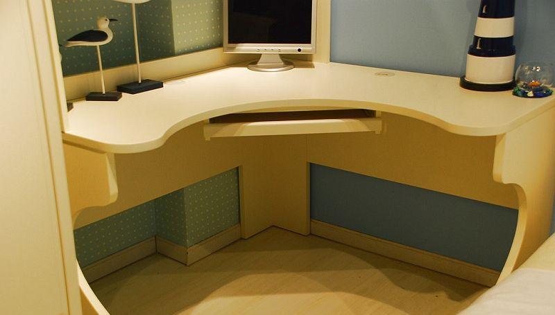 我爱我家儿童家具FM16转角书桌FM16