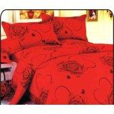 夜雅家纺浪漫玫瑰-红夜雅四件套