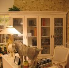 艾芙迪-书柜+书桌+书椅(三件)