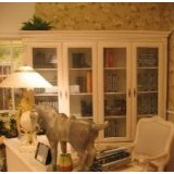 艾芙迪书柜书桌书椅三件套